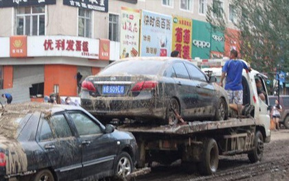 Mưa lũ tại Cát Lâm (Trung Quốc) khiến 18 người thiệt mạng