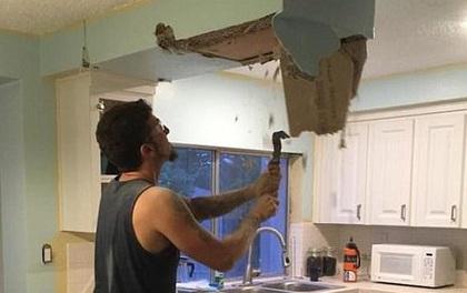Sửa sang nhà bếp, cặp vợ chồng sững người khi phát hiện một vật đã có hơn nửa thế kỷ
