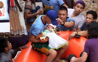 Những hình ảnh đau lòng sau khi bão Tembin càn quét Philippines: hơn 100 người thiệt mạng, nhiều người cuốn trôi ra biển