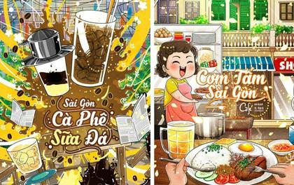 Sài Gòn sẽ thế nào khi được vẽ chibi? Cực đáng yêu chứ sao nữa!