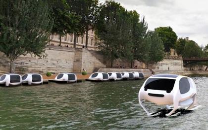 Taxi dưới nước đầu tiên trên thế giới sẽ xuất hiện ở Paris