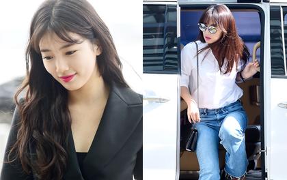 """Đau đầu với màn đọ sắc hiếm hoi: Nữ thần """"Hậu duệ mặt trời"""" hay nữ thần Kpop Suzy đẹp xuất sắc hơn?"""