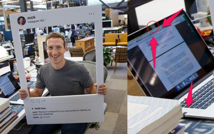 Mark Zuckerberg dán băng dính vào webcam và microphone trên laptop, lý do đằng sau cũng khiến bạn muốn làm theo ngay