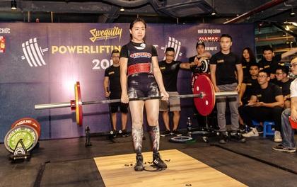 Powerlifting Meet 2017 đã tìm ra 16 vận động viên xuất sắc nhất