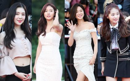 """Thảm đỏ hot nhất Kpop hôm nay: """"Nàng cháo"""" đọ sắc với dàn mỹ nhân thế hệ mới, người đẹp vô danh bỗng nổi bật"""