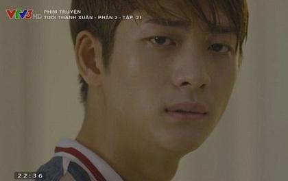 Junsu (Kang Tae Oh) và Phong (Mạnh Trường) đấm nhau tím mặt