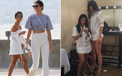 """Nếu cao 1m55, bạn sẽ thành """"một mẩu"""" tí hon khi đi cạnh Kendall Jenner!"""