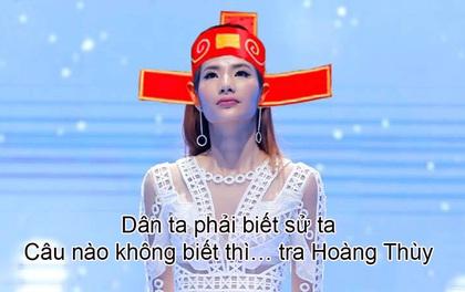 """Ngồi im như thóc trong tập 3, Hoàng Thùy vẫn bị khán giả """"réo tên"""" liên tục!"""