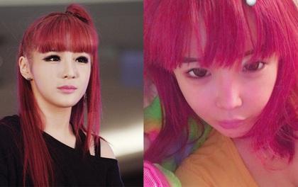 """Cố nhuộm lại tóc đỏ như thời đỉnh cao nhan sắc nhưng Park Bom vẫn bị chê vì khuôn mặt """"biến dạng"""""""