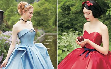 Lóa mắt trước serie váy cưới lộng lẫy của những công chúa Disney ngoài đời thực