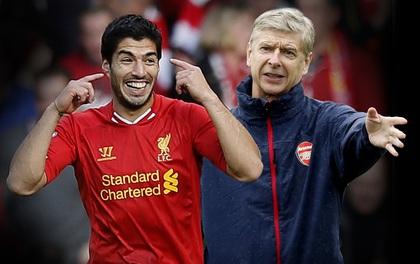 HLV Wenger vẫn tiếc hùi hụi vì mua hụt Suarez