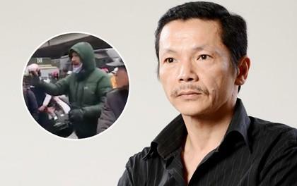 """Clip: NSƯT Trung Anh """"Người Phán Xử"""" xảy ra xô xát với tài xế taxi, bị đánh chảy máu đầu"""