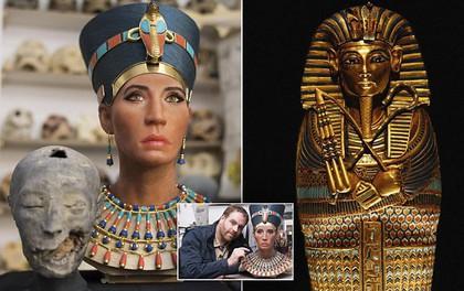 500h dựng lại nhan sắc của Nefertiti - nữ hoàng bí ẩn nhất Ai Cập, kết quả gây tranh cãi khủng khiếp