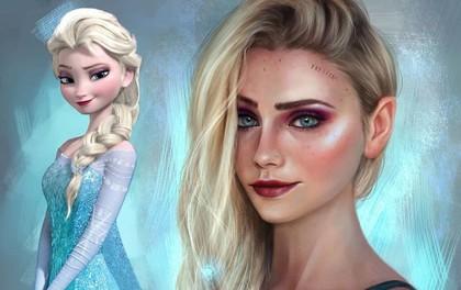 Tạo hình đời thực xinh đẹp của 15 nhân vật hoạt hình quen thuộc