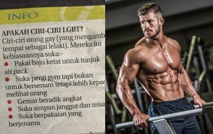 """Cư dân mạng phẫn nộ với bài báo """"Cách nhận biết Gay"""": Đi tập gym, mặc đồ hiệu, áo bó thì là người đồng tính!"""