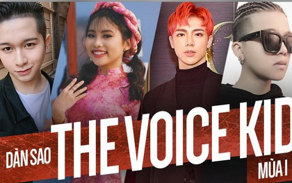 """Năm 2017 đã chứng kiến cuộc lột xác đầy ấn tượng của những sao nhí """"The Voice Kids"""" mùa đầu tiên!"""