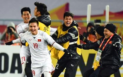 Đón xuân Mậu Tuất 2018, tuyển Việt Nam vẫn là số 1 Đông Nam Á