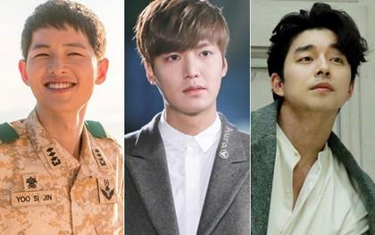 """Cười ngất với phản ứng của Song Joong Ki, Lee Min Ho,... khi đọc thoại phim của """"bà chúa phim sến"""" xứ Hàn"""