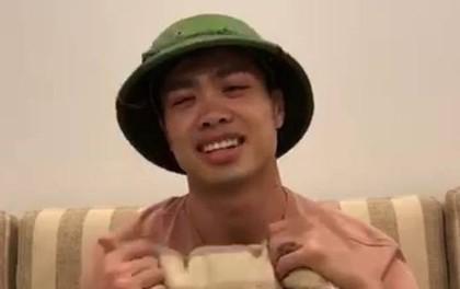 """Công Phượng chúc Tết người hâm mộ, được truyền hình Nhật Bản gọi là """"ngôi sao quốc dân"""""""