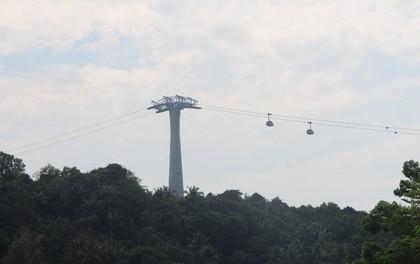 Ngắm cáp treo dài nhất thế giới tại Phú Quốc ngày khánh thành