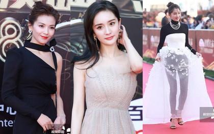 Thảm đỏ hot nhất Cbiz hôm nay: Dương Mịch đè bẹp dàn mỹ nhân, bạn gái Luhan hot vì... thời trang khó hiểu