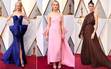 """Những bộ cánh xuất sắc nhất thảm đỏ Oscar 2018: Chẳng cần """"chặt chém"""", tinh giản mới là đỉnh cao của hoàn mỹ!"""