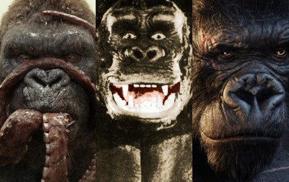 """5 """"chàng"""" Kong trong lịch sử Hollywood, không tên khỉ khổng lồ nào lầy bằng George của """"Rampage"""""""