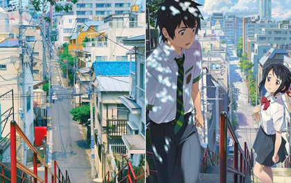 """So sánh ảnh thực tế với hình vẽ của """"Your name"""" mới thấy họa sĩ Nhật Bản vẽ """"đỉnh"""" như thế nào"""