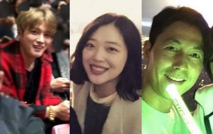 Tài tử Jung Woo Sung, Sulli, Jaejoong cùng loạt sao Hàn đình đám gây sốt khi rủ nhau đi xem concert Big Bang