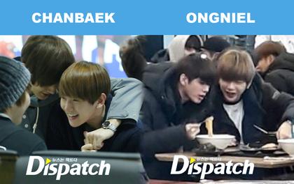 """Khi Dispatch """"đẩy thuyền"""" loạt cặp đôi đồng giới vào ngày 1/1: Chanbaek cho tới cặp của Song Joong Ki đều quá ngọt"""