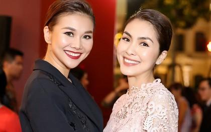 Thanh Hằng đẹp sắc sảo, đọ sắc bên Hà Tăng tại sự kiện với Lý Minh Thuận - Phạm Văn Phương
