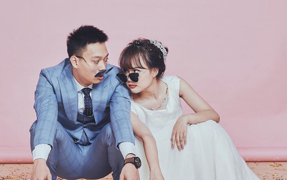 """Loạt ảnh siêu lầy lội của vợ chồng Nhật Anh Trắng: Yêu """"thánh chế"""" nên thế là quá bình thường!"""