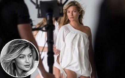 """Đăng ảnh chụp với Gigi Hadid, Kate Moss """"chơi đểu"""" khi cố tình che mặt đàn em"""