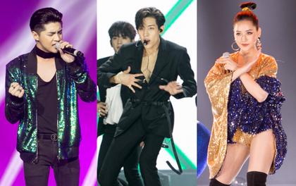 """Cập nhật: GOT7 đem tới loạt hit siêu hot """"Never Ever"""", """"If You Do"""", Noo Phước Thịnh rước cả Hoa hậu Phạm Hương lên biểu diễn"""