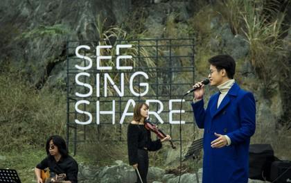 Hà Anh Tuấn mang dự án acoustic See Sing Share trở lại, tiếp tục khám phá vùng đất âm nhạc mới