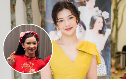 Cô dâu Lưu Đê Ly lộ cơ mặt chảy xệ trong bức ảnh chụp vội của team qua đường, khác xa ảnh selfie lung linh trên mạng