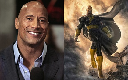 """""""The Rock"""" Dwayne Johnson chính thức nhập hội siêu anh hùng, trở thành """"đối thủ truyền kiếp"""" của Shazam"""