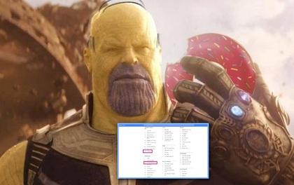 """Endgame hết từ lâu nhưng Thanos chưa bao giờ hết hot vì suốt ngày bị netizen chế """"meme"""" tới nỗi lọt top tìm kiếm của Google"""