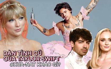 """Biệt đội tình cũ của Taylor Swift bây giờ thế nào: Joe đã lấy vợ, Loki và """"người sói"""" không gây sốc bằng Harry Style"""