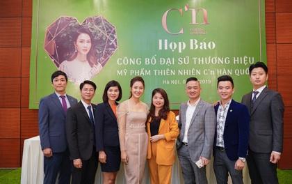 """Diễn viên Hồng Diễm """"nhập vai"""" đại sứ mỹ phẩm thiên nhiên C'n Hàn Quốc"""