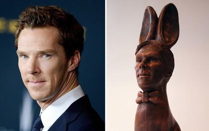 """Anh Quốc: mừng lễ Phục Sinh bằng socola hình thỏ nhưng mang đầu của... """"phù thuỷ tối thượng"""" Benedict Cumberbatch"""