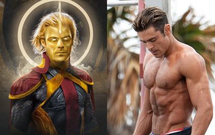 """Cực phẩm sáu múi Zac Efron gia nhập Marvel, netizen phấn khích: """"Thi hát với Starlord Peter Quill rồi vào trận nha anh ơi""""!"""