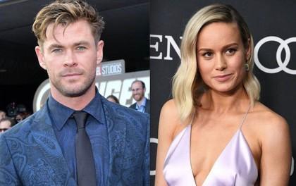 """""""Thor"""" Chris Hemsworth xung đột gay gắt với """"Captain Marvel"""" Brie Larson vì thái độ hách dịch của mỹ nhân này?"""