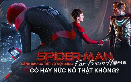 Spider-man: Far From Home thật sự đáng xem hay nhạt nhẽo?
