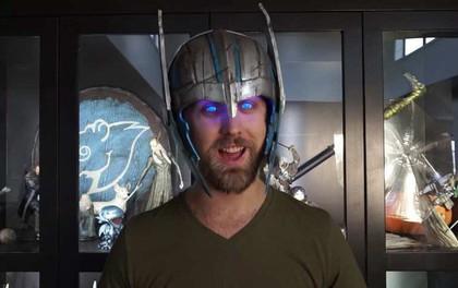 Hô biến mắt phát sáng như thần Thor trong Ragnarok bằng tuyệt chiêu cực độc của YouTuber này