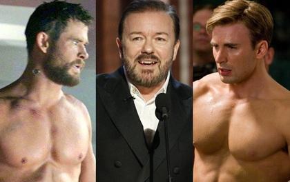 """Trắng tay tại Quả Cầu Vàng 2020, Chris Evans và dàn siêu anh hùng Marvel bị chế giễu là """"chỉ giỏi khoe thân""""?"""