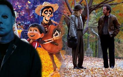 """5 phim hay đúng gu cho mùa thu: Muốn ấm lòng với Coco hay """"đổ ruột"""" trước sát nhân Halloween đều được"""