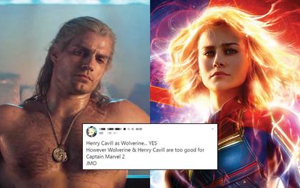 """Marvel """"âm mưu"""" đưa trai đẹp The Witcher vào vũ trụ bằng Captain Marvel 2: Còn gì là spotlight của Brie Larson?"""