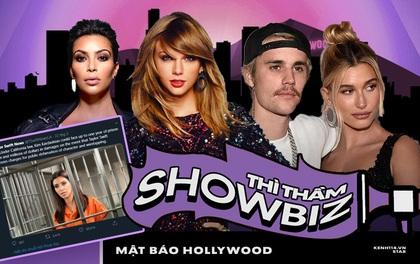 """Thì thầm Hollywood: Kim có thể """"ăn quả đắng"""" vì đặt bẫy Taylor, Justin Bieber ly hôn và sự thật sau loạt ồn ào gây sốc"""
