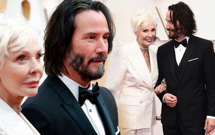 270.000 fan xúc động vì ngôi sao tử tế nhất hành tinh: Người ta chọn bạn gái, Keanu Reeves đưa mẹ ruột lên thảm đỏ Oscar